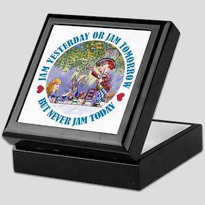 But Never Jam Today Keepsake Box