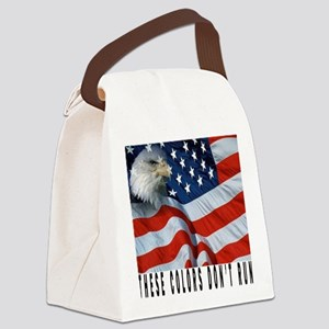 THESE COLORS DON'T RUN Canvas Lunch Bag