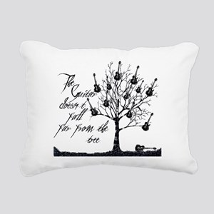 Guitar tree Rectangular Canvas Pillow