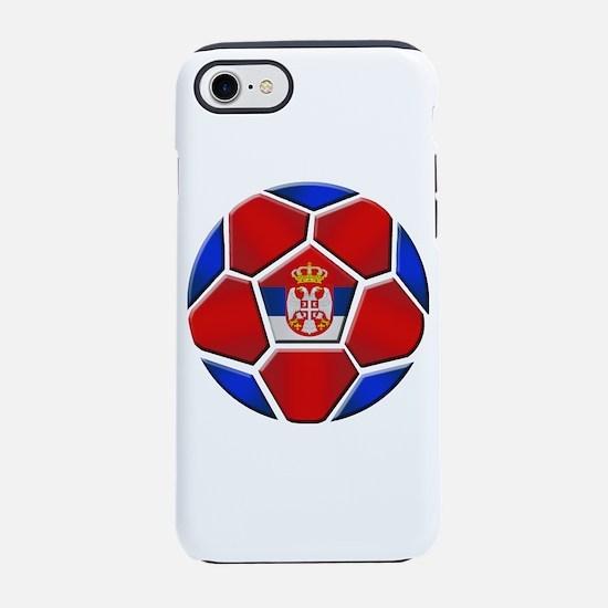 Serbia Soccer Football iPhone 7 Tough Case