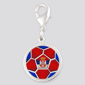 Serbia Soccer Football Charms