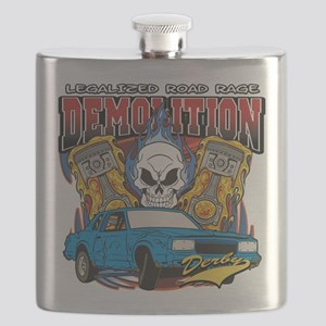 Demolition Derby Flask