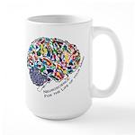 Mind-Life 1 Large Mug
