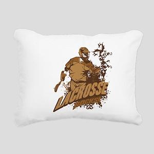 Lacrosse Rocks Rectangular Canvas Pillow