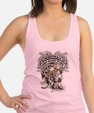 Cute Hockey team Racerback Tank Top