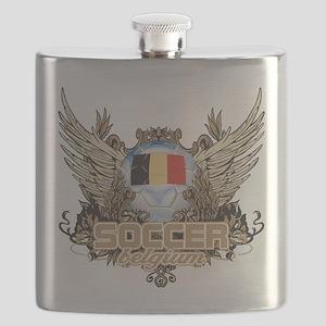 Soccer Belgium Flask