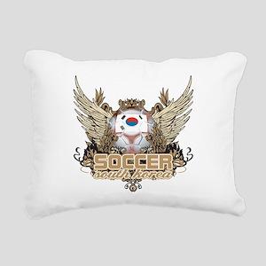 Soccer South Korea Rectangular Canvas Pillow