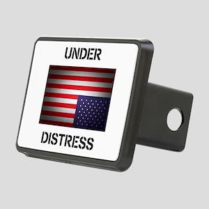 Under Distress Rectangular Hitch Cover