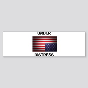 Under Distress Sticker (Bumper)