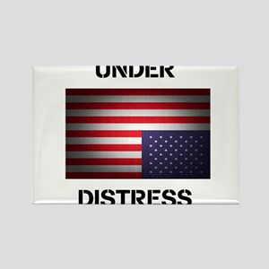 Under Distress Rectangle Magnet