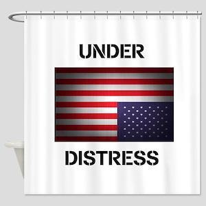 Under Distress Shower Curtain