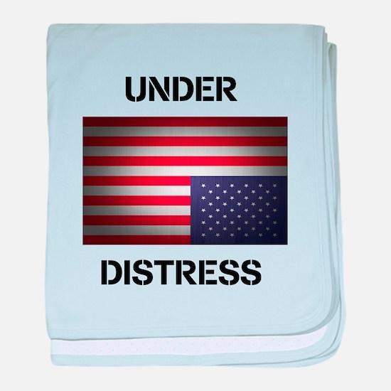 Under Distress baby blanket