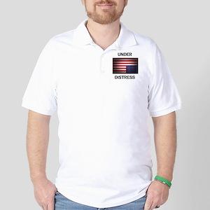 Under Distress Golf Shirt