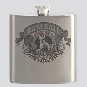 Baseball My Sport Flask