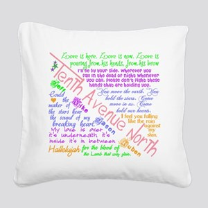 Tenthavenorth2 Square Canvas Pillow