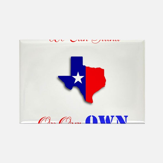 On Our Own Rectangle Magnet (100 pack)