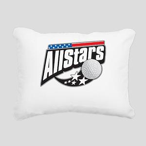 Golf All Stars Rectangular Canvas Pillow