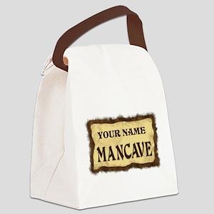 MANCAVE CUST Canvas Lunch Bag