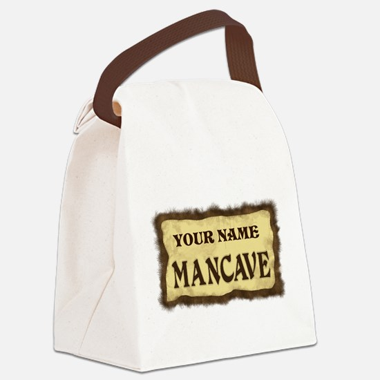 MANCAVE CUST Canvas Lunch Bag