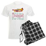Will Play Trumpet Men's Light Pajamas