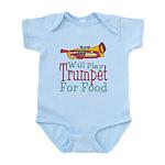 Will Play Trumpet Infant Bodysuit