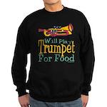 Will Play Trumpet Sweatshirt (dark)