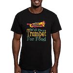 Will Play Trumpet Men's Fitted T-Shirt (dark)