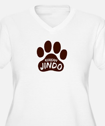 Korean Jindo Paw Print T-Shirt