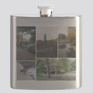 Naperville Riverwalk Flask