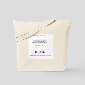 Islam. The Feminist Religion Tote Bag