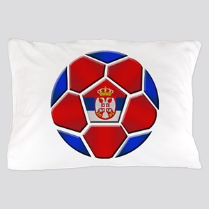 Serbia Soccer Football Pillow Case