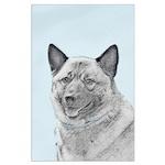 Norwegian Elkhound Large Poster