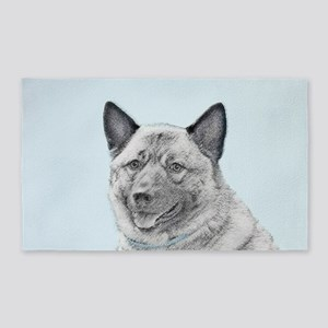 Norwegian Elkhound Area Rug