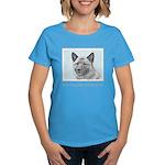 Norwegian Elkhound Women's Dark T-Shirt