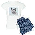 Norwegian Elkhound Women's Light Pajamas