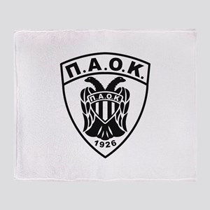 P.A.O.K Throw Blanket