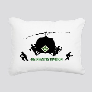 4th INFANTRY DIVISION Rectangular Canvas Pillow