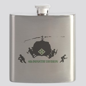 4th INFANTRY DIVISION Flask