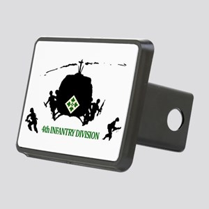 4th INFANTRY DIVISION Rectangular Hitch Cover
