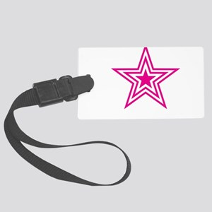 Pauly Star-Pink-01 Large Luggage Tag