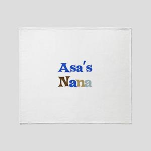 Asas Nana Throw Blanket