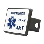 proud emt girlfrien... Rectangular Hitch Cover