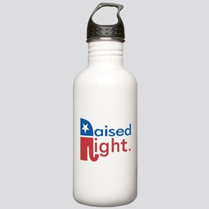 Raised Right Stainless Water Bottle 1.0L