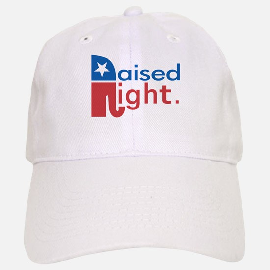 Raised Right Baseball Baseball Cap