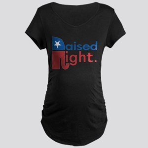 Raised Right Maternity Dark T-Shirt