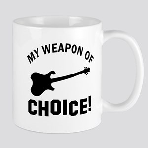 Electronic Guitar Weapon Of Choice Mug