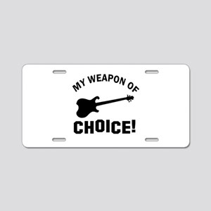 Electronic Guitar Weapon Of Choice Aluminum Licens
