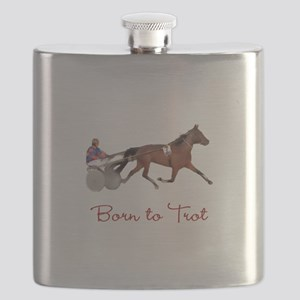 Born to Trot Flask