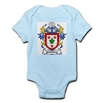 Greenless Coat of Arms Infant Creeper