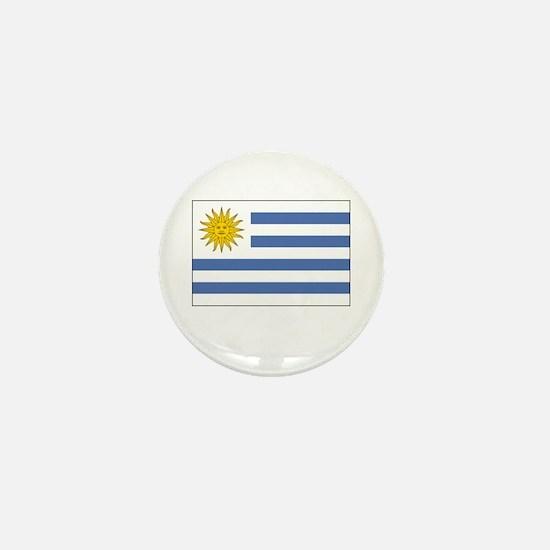 Uruguay Flag Picture Mini Button